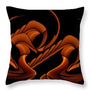 Hyper Sphinx Throw Pillow