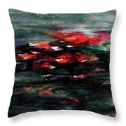 Hypnotic Alterations Throw Pillow