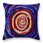 Hypnotic Gold Throw Pillow