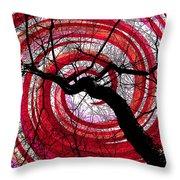 Hypnotic Nature Throw Pillow