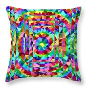 Hypnotic Throw Pillow