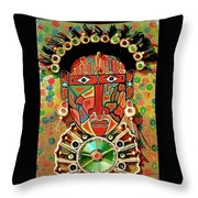 Hypnotizing Child Throw Pillow