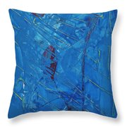 Hypothetical Particles Throw Pillow