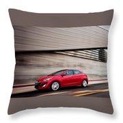 Hyundai Throw Pillow