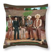 I Always Wanted To Be A Cartwright Throw Pillow
