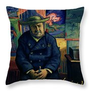I Am Afraid You Will Never Deliver That Letter To Theo Van Gogh Throw Pillow
