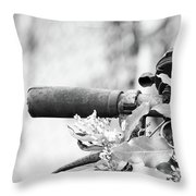 I Am Eager To Be Heard. Throw Pillow