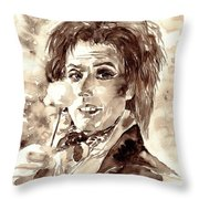 I Am Going Slightly Mad Throw Pillow