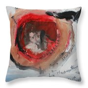 I Am Guessing Throw Pillow