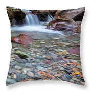 I Am Haunted By Water Throw Pillow
