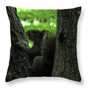 I Am Here Throw Pillow