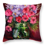 I Am Here Waiting For You Throw Pillow