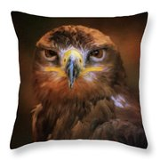 I Am Majesty Throw Pillow