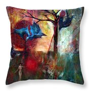 I Am Near You  Throw Pillow
