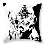 I Am Rhino Throw Pillow