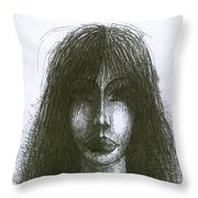 I Am Such Lonely  Throw Pillow