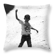 I Am The Champion  Throw Pillow