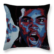 I Am The Greatest Throw Pillow