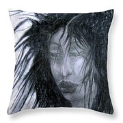 I Am Thoughtful Today  Throw Pillow