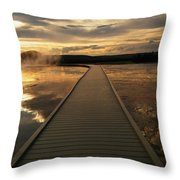 I Am With You Throw Pillow