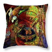 I Am Women  Throw Pillow by Joseph Mosley