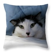 I Am Working Too Hard Throw Pillow
