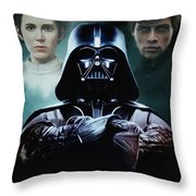 I Am Your Father Throw Pillow