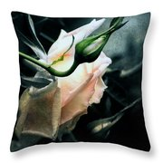 I Am Your Ghost Of A Rose Throw Pillow