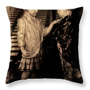 I Approve Throw Pillow