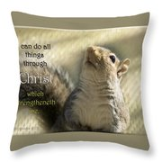 I Can Do It Throw Pillow