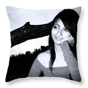 I Can Look Like This Throw Pillow