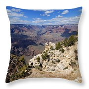 I Can See For Miles And Miles - Grand Canyon Throw Pillow