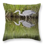 I Can See My Reflection Throw Pillow