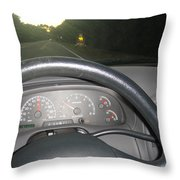 I Can't Drive 45...... Throw Pillow