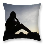 I Do Fade Throw Pillow