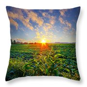 I Don't Live To Be Throw Pillow