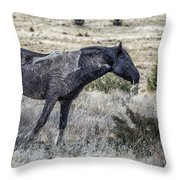 I Don't Mind Getting Dirty Throw Pillow