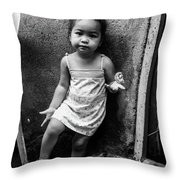 I Don't Want To Be Told Throw Pillow
