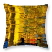 I Dreamed Of Six Woman Rowing Throw Pillow