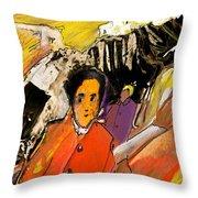 I Dreamt Of Oscar Wilde Throw Pillow