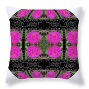 I Give To You A World Of Flowers Throw Pillow
