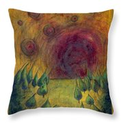 I Go There  Throw Pillow