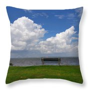 I Have Been Sitting There Many Times Throw Pillow