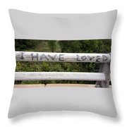 I Have Loved Throw Pillow