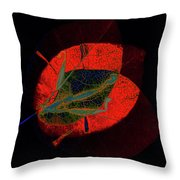 I Have Many Faces Number Five Throw Pillow