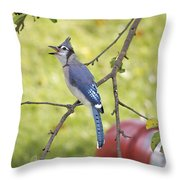 I Have Something To Say Throw Pillow