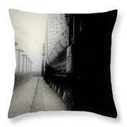 I Hear That Lonesome Whistle Blow Throw Pillow