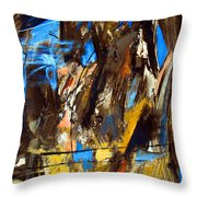 I Hear You Through The Noise Throw Pillow