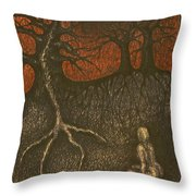 I In Night Think About You Throw Pillow