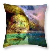 I Ini O Ka Naau Throw Pillow